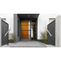 Wholesale 6063 - T5 Aluminum Framed Decorative Security Doors Powder Coating from china suppliers