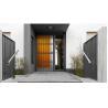 Buy cheap 6063 - T5 Aluminum Framed Decorative Security Doors Powder Coating from wholesalers