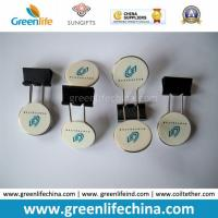 Wholesale Fashionable Round Plastic Logo Sheet Office Promotional Binder Clips from china suppliers
