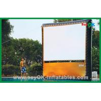 Wholesale Portable Home Inflatable Movie Screen / Projection Display Custom Inflatables from china suppliers