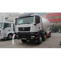 Wholesale 12 Wheels Concrete Mixer Truck 10 Cubic Meter 371hp 8X4 White from china suppliers