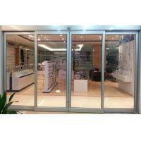 Wholesale 3 mm Automatic Aluminium Sliding Doors / Automated Sliding Door For Hotel from china suppliers