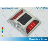 Wholesale IP68 8 Hz Flashing Aluminum Solar Led Road Stud Reflectors SRS0406 Ni - Mh Battery from china suppliers