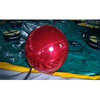 Wholesale 1 M  Red Inflatable Advertising Ball /Inflatable Mirror Ball For Indoor Event Or Christmas from china suppliers