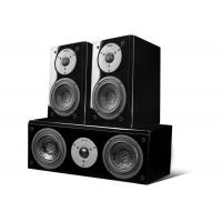 Wholesale Black Piano Paint Panel Surround Sound System , 100W 8 Ohm For 5.1 Home Movie Speakers from china suppliers