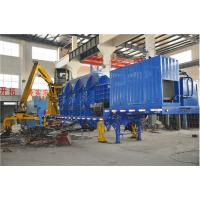 Wholesale High Efficient Automatical Portable Mobile Baler Machine , Steel Baling Press from china suppliers