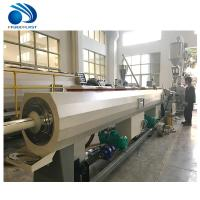 Wholesale Twin Screw 20-110mm Pvc Pipe Making Machine PP PE HDPE Tube Extrusion from china suppliers