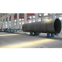 Buy cheap Wind Tower Productions Line Welding Rotator for Tower Growing Up Wheels Center Micro adjusted by Hydraulic Cylinder from wholesalers