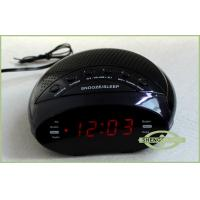 Wholesale Mini Dual Alarm Digital Clock Raido with PLL Radio Tuner, LED display from china suppliers