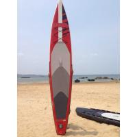 Wholesale Stand Up Inflatable Standup Paddleboard 3.8meter Length 15cm Width Red Airmat Floor from china suppliers