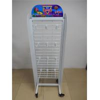 Wholesale Movable Retail Store Fixtures , Metal Candy Retail Shop Display Shelving from china suppliers