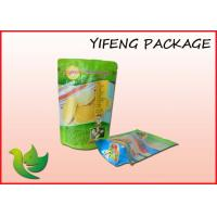 Wholesale Bottom Gusset Plastic Stand Up Pouch With Zipper Tear Notch from china suppliers