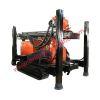 Wholesale full hydraulic 95kw engine crawler mounted 400m water well drilling machine from china suppliers