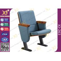 Wholesale Molded Foam Low Back Auditorium Seat Chairs With MDF Writing Pad Spring Return from china suppliers