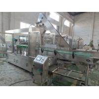 Wholesale Crown Cap Beer Bottle Filling Machine 3500 BPH Glass Bottling Machine from china suppliers