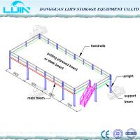 Wholesale Steel Industrial Mezzanine Floors System Easy Install / Dismantle Large Load from china suppliers