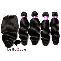 "Wholesale 8A Loose Wave Virgin Indian Hair Human Hair Extension 8-30"" Length from china suppliers"