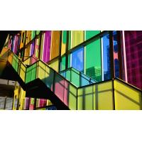 Wholesale Multi Color Tinted Decorative Glass Panels Smooth / Textured For Walls , 3mm 4mm 5mm from china suppliers
