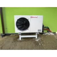 Wholesale High Efficiency Electric Air Source Heat Pump 380V / 220V / 50HZ High Water Temperature Outlet from china suppliers