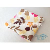 Wholesale High Absorbent Flower Printed Streak Free Microfiber Cloth 80% Polyester from china suppliers