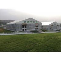 Wholesale A Frame Tailgating Outside Canopy Event Tent With Sides Waterproof Sand White from china suppliers