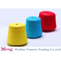 Wholesale Ring Spun Polyester Yarn For Sewing Thread , Custom Colorful Polyester Thread Wholesale from china suppliers