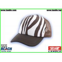 Wholesale Hip Pop Stripe Customized Baseball Caps With Polyester Fabric from china suppliers