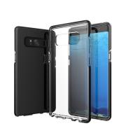 Wholesale Anti-Slip Samsung Note 8 Cover , Dual Layer Clear Tpu Back Cover Case from china suppliers