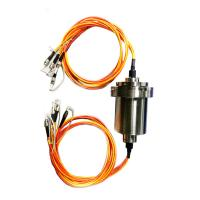 Wholesale High Grade Sealing Fiber Optic Rotary Joint Slip Ring High Speed For Under Water Robots from china suppliers
