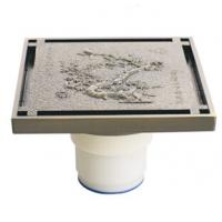 Wholesale Antique Bronze Square Floor drain, PQ5001-50A from china suppliers
