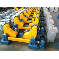Quality Batch Production 20T Self Aligning Pipe Welding Rollers Rotator With Control Cabinet 20T for sale