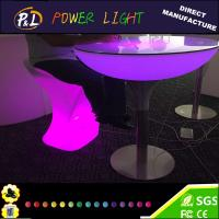 Wholesale Outdoor Lounge Furniture LED Illuminated Table from china suppliers