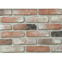 Wholesale 5D20-6 Indoor Faux Brick Wall Panels , Clay Exterior Brick Tiles For Walls 210x55x12mm from china suppliers