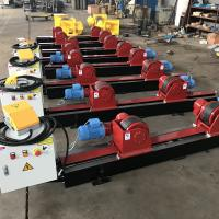 Buy cheap Conventional Tank Turning Rolls , 5 Ton Welding Rotator With Manual Wheels Adjust from wholesalers