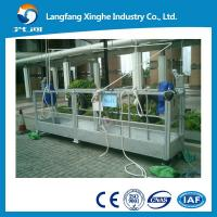 Wholesale aluminium alloy / hot galvanized suspended scaffolding / suspending cradle / scaffolding platform from china suppliers