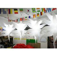 Wholesale Unique Shaped Hanging Seastar Led Light Balloon Lighting Inflatable Club Decorations from china suppliers