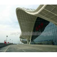Wholesale UV Resistant Prefabricated Steel Structures Large Span Prefab Bus / Train Station from china suppliers