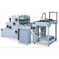 China automatic paper-feeding unit AUTOMATIC WATER SOLUBLE LAMINATING MACHINE on sale