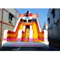 Wholesale 0.55mm PVC Customized Residential Inflatable Backyard Slide Puncture Proof Environment Friendly from china suppliers