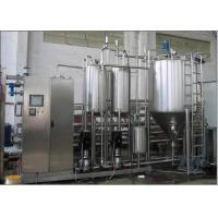China 3000B / H Pasteurized Milk Production Line Automatic High Speed on sale