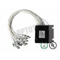 Wholesale FBT Coupler / Fiber Optic Beam Splitter 1x16 50 DB Low Excess Loss from china suppliers