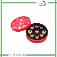 Wholesale Customised Cylinder Cardboard Gift Boxes For Chocolates , Eco Friendly from china suppliers