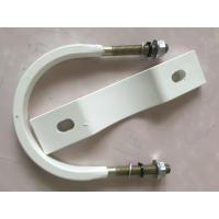 Wholesale Durable White Concrete U Pipe Clamp Anti Corrosion For Construction from china suppliers