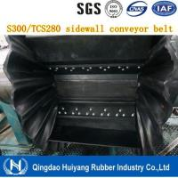 Wholesale Fire Resistant Corrugated Sidewall Endless Rubber Conveyor Belt' 500mm height cleat DIN Standard from china suppliers