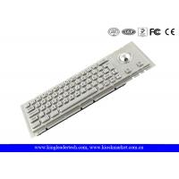 Wholesale IP65 Industrial Cherry Key Switch Kiosk Keyboard With Rugged Trackball from china suppliers