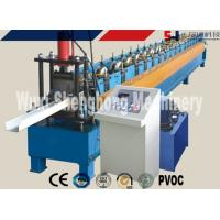 Wholesale Rain Gutter Roll Forming Machine PLC Control 0.4 - 0.6mm Thickness from china suppliers