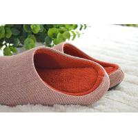 Wholesale High grade cotton cloth leisure non-skid indoor slippers for hotel 36-45 size from china suppliers