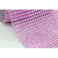 Wholesale bling wedding card box diamond mesh ribbon wrap from china suppliers