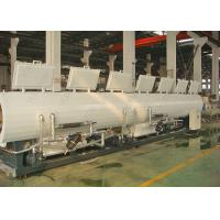 China CE SGS PP PE PVC Making Machine Line , Plastic Pipe Vacuum Calibration Cooling Tank on sale