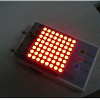 Wholesale Advertising 8 x 8 Dot Matrix Display / Dot Matrix LED Running Display from china suppliers